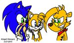 Sonic Tails and Ty by Kova360