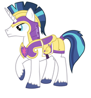 Shinning Armour by Vector-Brony
