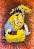 INVINCIBLE GONNA GET YA ECCC13 by RyanOttley