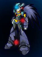 Request: Megaman-RA X Style by Shoutaro-Saito