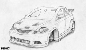 Honda City Modified by FuseEST