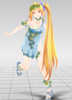 Akita Neru Cute Dress DL V1 by AyumiArata