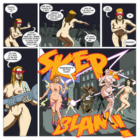 Laser Lady Page 47 by legmuscle