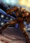 Zangief by darkchapolin