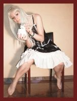 Alice with mouse in sugarbowl2 by Lisajen-stock