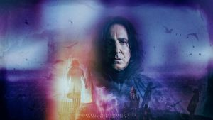 Snape's Song by VeilaKs-Wallpapers