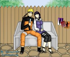 naruhina - enjoing the day by lavender100
