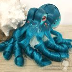 Ocean Green Theme Octopus Fascinator by deeed