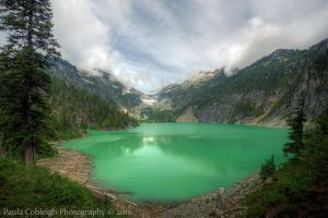 Blanca Lake by La-Vita-a-Bella