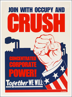 Crush Corporate Power! by poasterchild