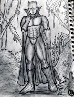 51-black Panther by arepa999