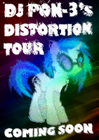 DJ P0N-3's Distortion Tour by Skeptic-Mousey