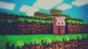 Pig Time - Minecraft by MuuseDesign