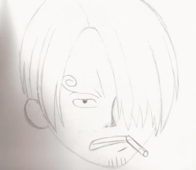 Sanji Giftart by Draconic-Death
