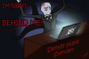 Slendy plays Slender by confusedgorilla