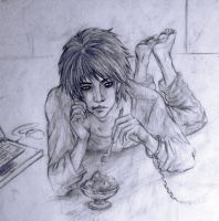 question lawliet by ymymy