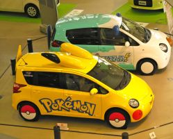 Just so you know these exist ! [PokemonCars] by RunaFire