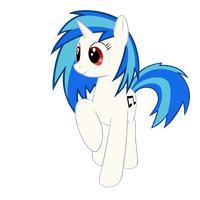 Vinyl Scratch by mkovic