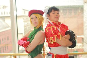 Anime Boston 2014 - Worlds' Strongest Women(PS) 10 by VideoGameStupid