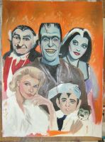The Munsters by Paulstered