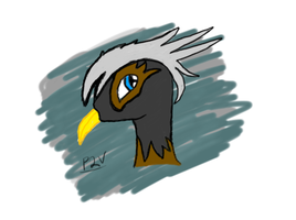 Griffon (colored) by Pony2Vector