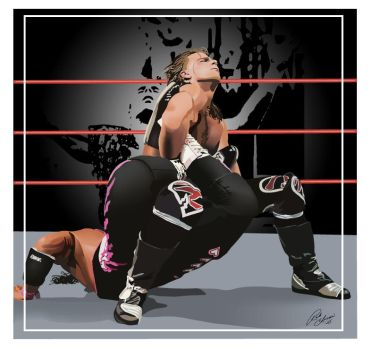 HBK vs Hart by MrTalent