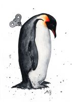 Wind-Up Penguin VII by bcduncan