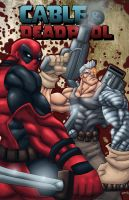 deadpool Cable by K-fry-express