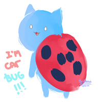 I'm catbug!!! by AtomicKitten13