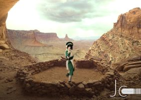 Avatar: The Last Airbender - Toph by Nayias01
