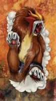 Entei by Rubi