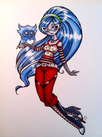 Ghoulia.Yelps by kinokocha