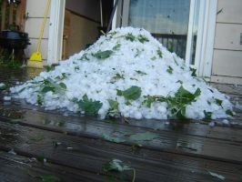 Hail Storm-Hail Pile Shvled2 by SilverPyroLupogryph