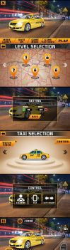 Taxi-Game GUI by mad-zain