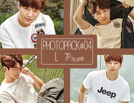 PHOTOPACK #04 Infinite L-7p by yuntb