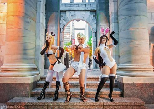 Bravely Default: No Pants Club by Malindachan