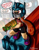 Autobot Female Inkling by XJKenny