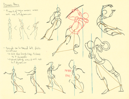 Hampton p.18-21: Dynamic Poses by theThirdCartel