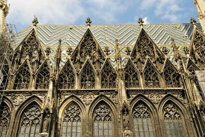 St Stephens Cathedral, Vienna - detail 1 by wildplaces