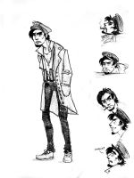 Rufus - concept sketches by elicenia