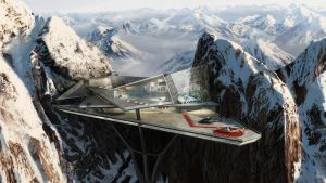 Tony Stark's Mt. Pilatus mansi by GordonTarpley