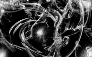Smoke Abstract - Unfinished by theLastWanderer