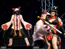 Tao and The Boobie Lady by AngelCostumes