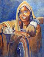 Ethiopian Woman by dezz1977