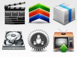 Boxy Social Icons by FreeIconsFinder