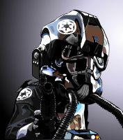 TIE Fighter Pilot by Content-Josho