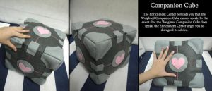 Weighted Companion Cube by lunayan