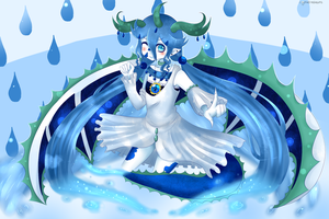 +Project+ Water princess by CrystalineDreams