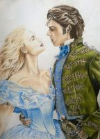 Cinderella-Ella And The Prince  by chloemeehan1