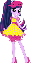 Twilight Sparkle Sleepover Vector by icantunloveyou